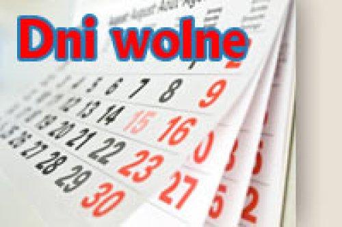 Zarządzenie Nr 49.2015 Wójta Gminy Sobków zdnia 16 kwietnia 2015 roku wsprawie ustalenia terminu dodatkowych dni wolnych od pracy w2015 roku dla pracowników Urzędu Gminy wSobkowie