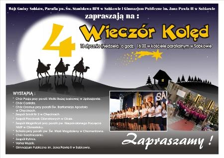 IV Wieczór Kolęd w kościele parafialnym wSobkowie